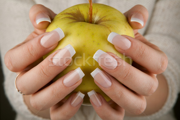 beautiful female hands Stock photo © restyler