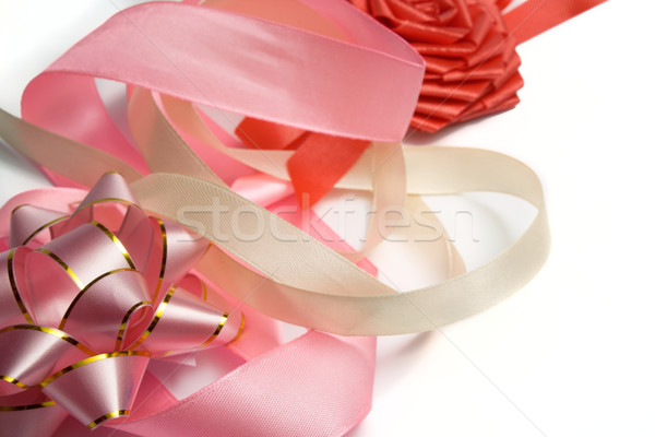 Set for an ornament of  gift Stock photo © restyler
