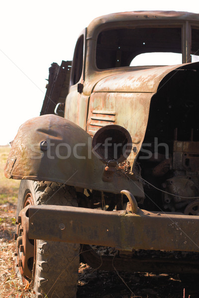 Old Rusty Truck Stock photo © restyler
