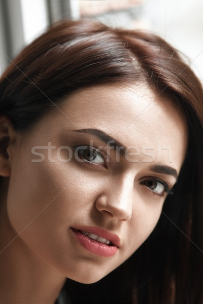 Stock photo: Portrait of a young beautiful girl