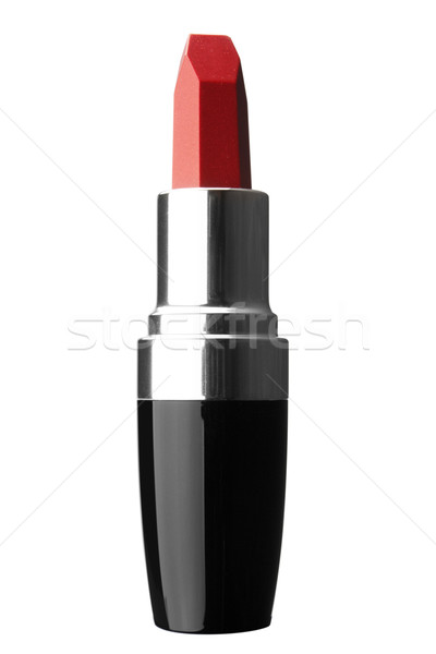 Beautiful Red Lipstick Isolated on White Stock photo © restyler