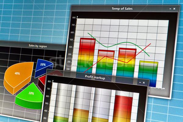 скриншот аннотация бизнеса компьютер кадр Сток-фото © reticent