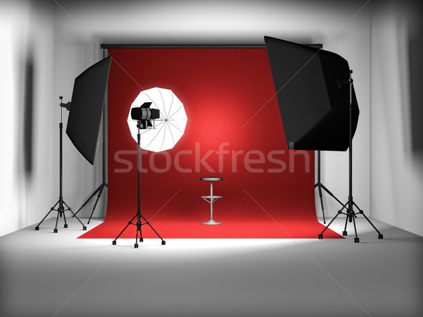 photo studio Stock photo © reticent