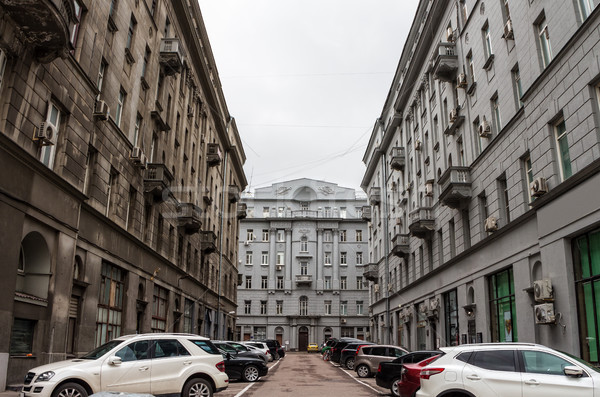 old moscow street Stock photo © reticent