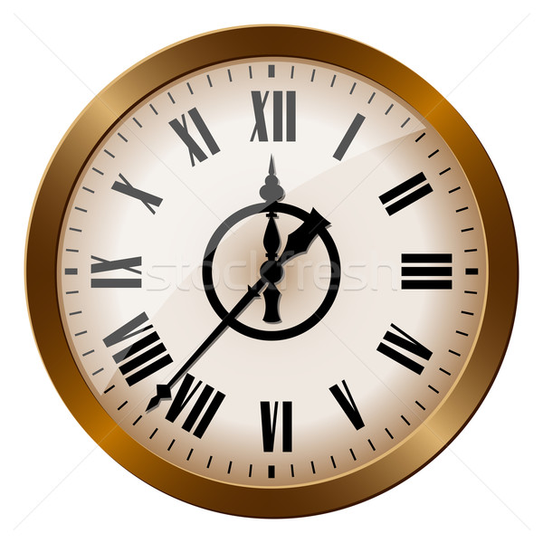Old-fashioned clock Stock photo © reticent