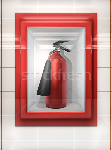 Fire Extinguisher Stock photo © reticent