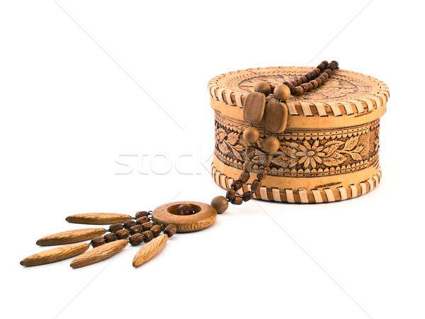 wooden adornment Stock photo © reticent