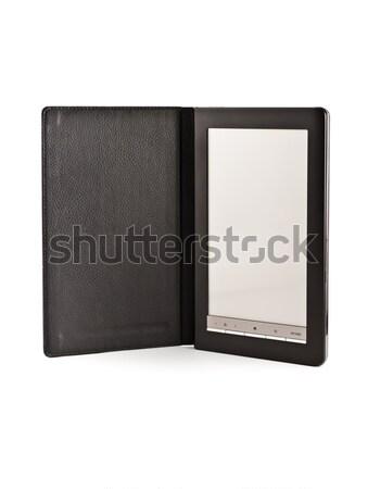 Ebook moderno eletrônico bolso livro isolado Foto stock © reticent