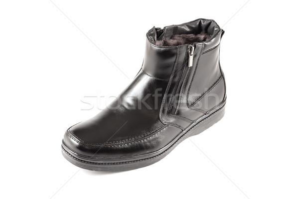 сапогах один зимний сезон моде обувь Сток-фото © reticent