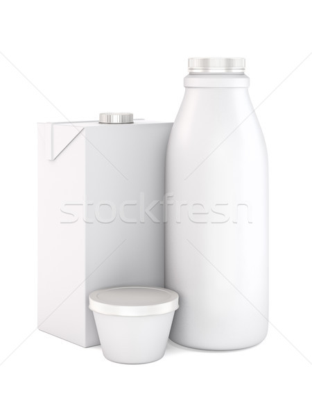 Dairy products. Stock photo © reticent