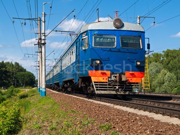 Suburban Train Stock photo © reticent