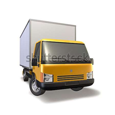 Small Truck Stock photo © reticent