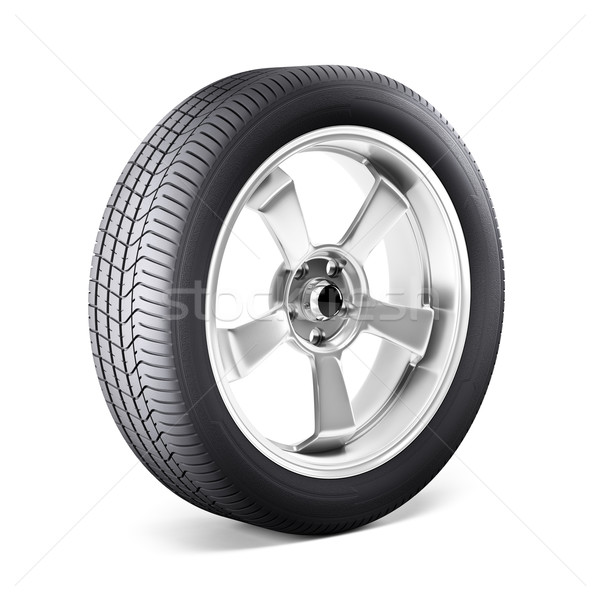 Car wheel Stock photo © reticent