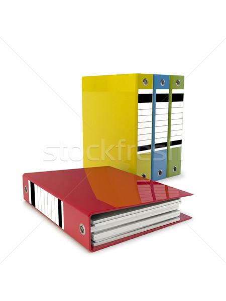 3d иллюстрации файла зеленый красный Сток-фото © reticent