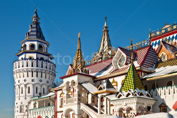 クレムリン モスクワ ロシア アーキテクチャ 壁 教会 ストックフォト © reticent