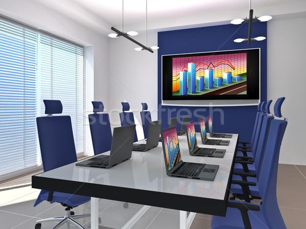 meeting room Stock photo © reticent