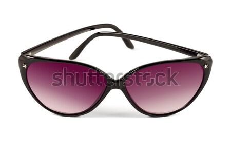Occhiali da sole contemporanea sole occhiali bianco vetro Foto d'archivio © reticent