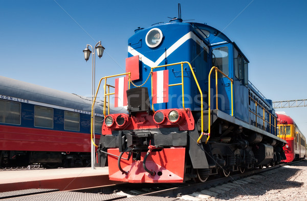 old train Stock photo © reticent