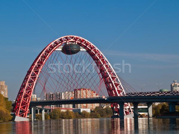 Modern bridge Stock photo © reticent