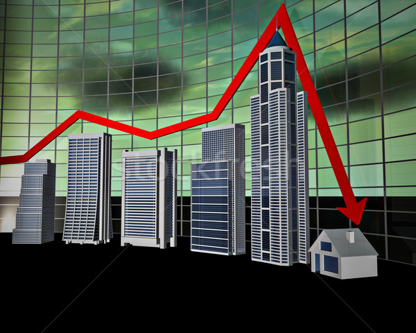 Business Bar Graph Stock photo © reticent