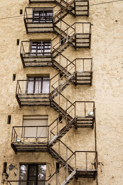 fire escape ladder Stock photo © reticent