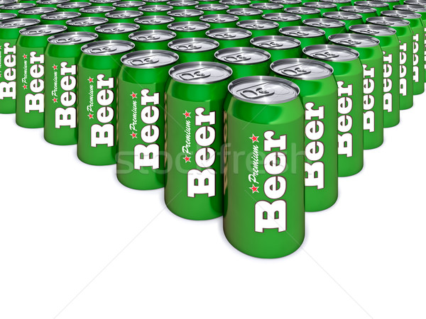 Beer Cans Stock photo © reticent