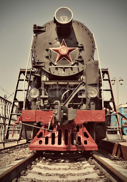 steam train Stock photo © reticent