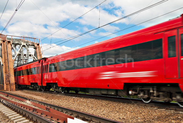 Passenger train Stock photo © reticent