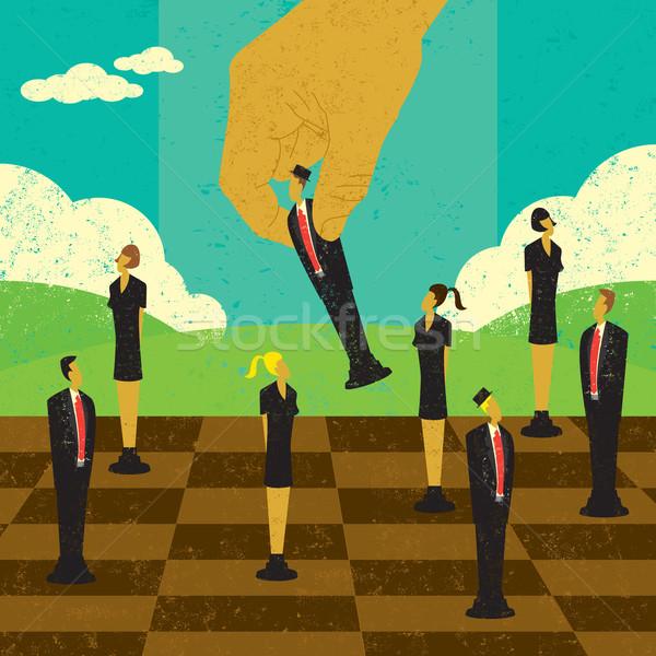 Strategic Management Decisions Stock photo © retrostar