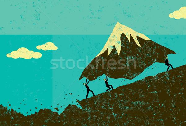 Moving Mountains Stock photo © retrostar