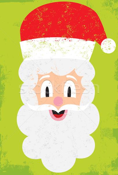 Santa portrait Stock photo © retrostar
