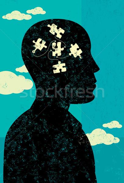 Problem Solver Stock photo © retrostar