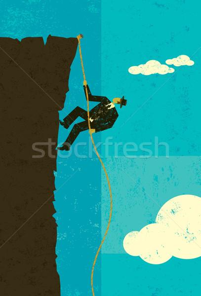 Climber Stock photo © retrostar