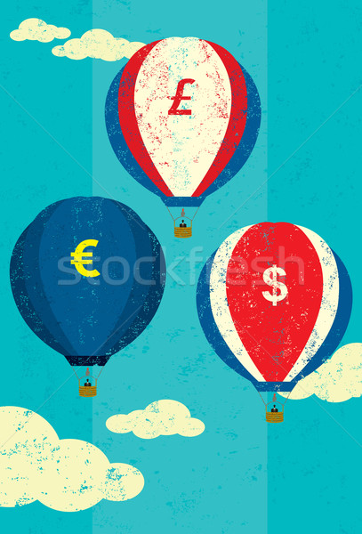 Currency Fluctuations Stock photo © retrostar