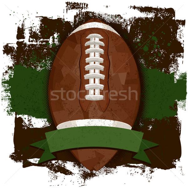футбола лента текста баннер Сток-фото © retrostar
