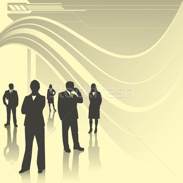 Technology Business Team Stock photo © retrostar