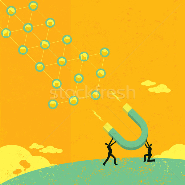 Attracting Social Networks Stock photo © retrostar