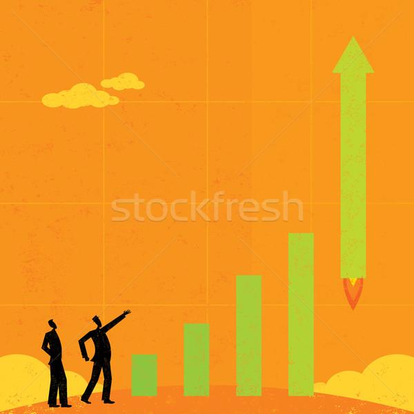 бизнесменов Смотреть Сток-фото © retrostar