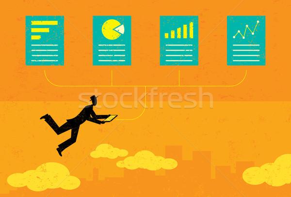 Auditing Financial Documents  Stock photo © retrostar
