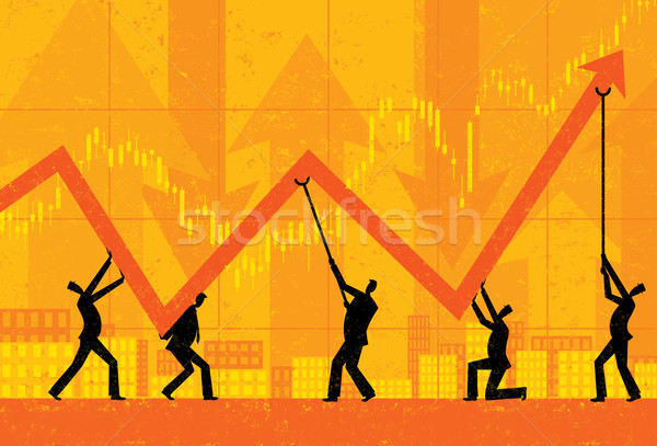 Maintaining Profits Stock photo © retrostar