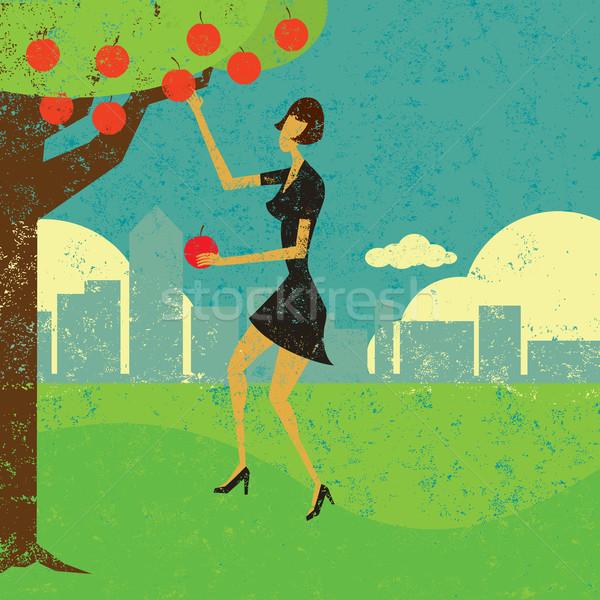 Picking the low hanging fruit Stock photo © retrostar