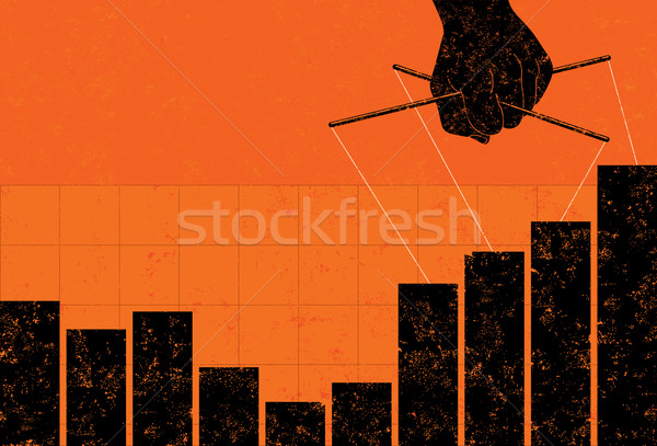 Profit Manipulation Stock photo © retrostar
