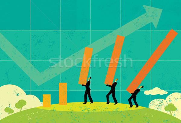 Profit Projections Stock photo © retrostar
