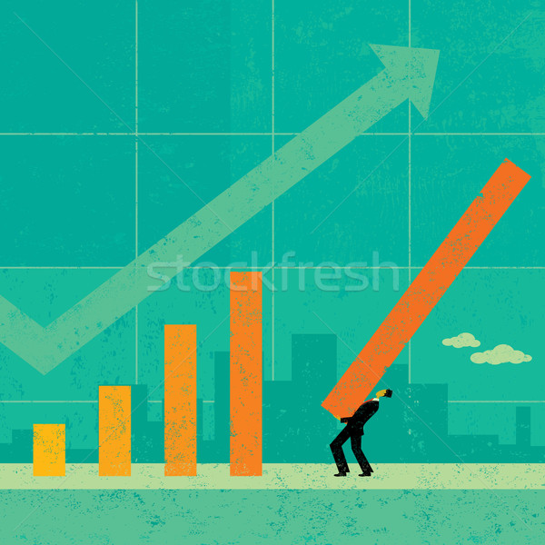 Recettes projection affaires avenir vie Photo stock © retrostar
