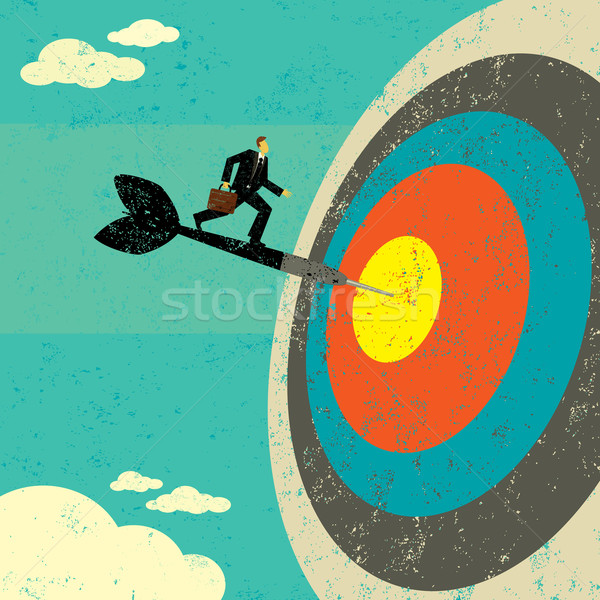Hitting the Target Stock photo © retrostar
