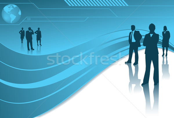 Global Business Teams Stock photo © retrostar