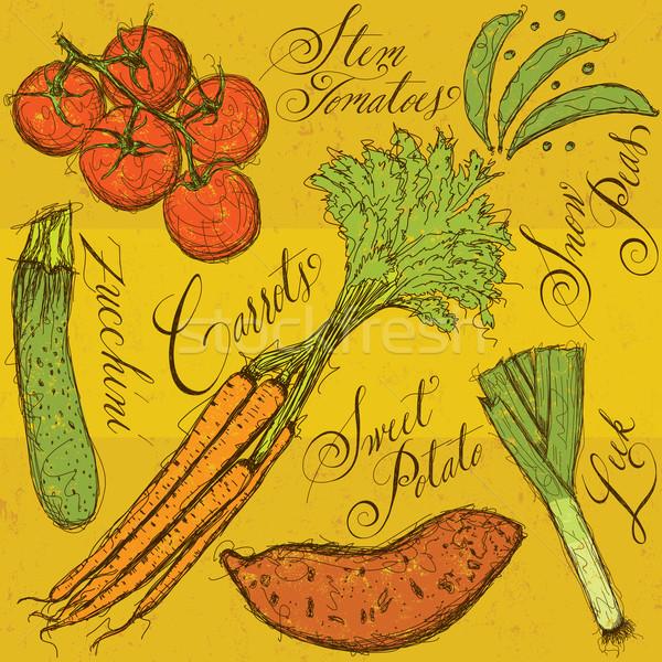 Vegetables Stock photo © retrostar