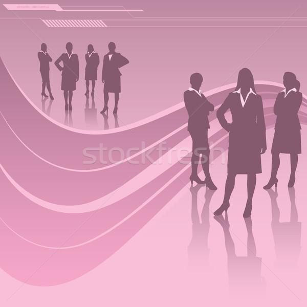 Women in Business Stock photo © retrostar