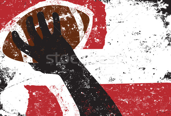 Passing football background Stock photo © retrostar