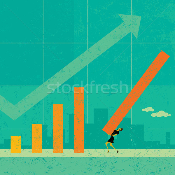 Revenue Projection Stock photo © retrostar